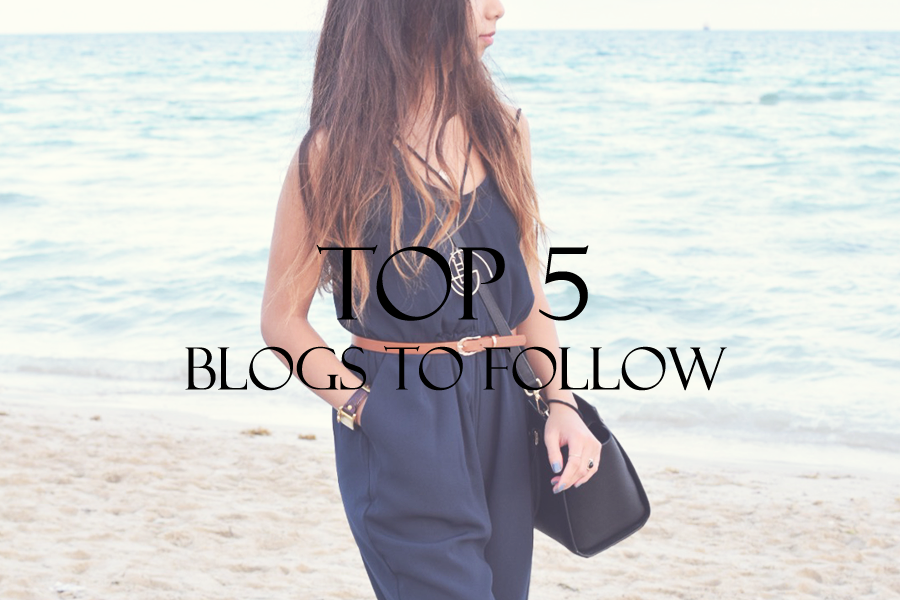 Monthly Top 5 Blogs to Follow - January