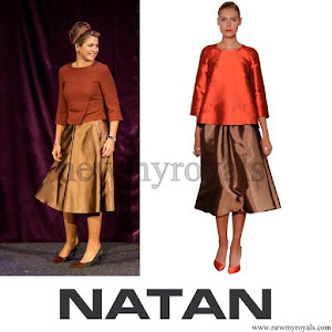 Queen Maxima wore NATAN Dress Skirt Top