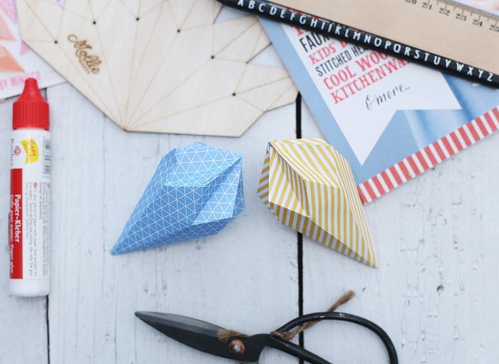 Paper Gems Papier Diamant Origami