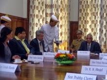 GTA members with Governor MK Narayanan at the Raj Bhawan in Darjeeling