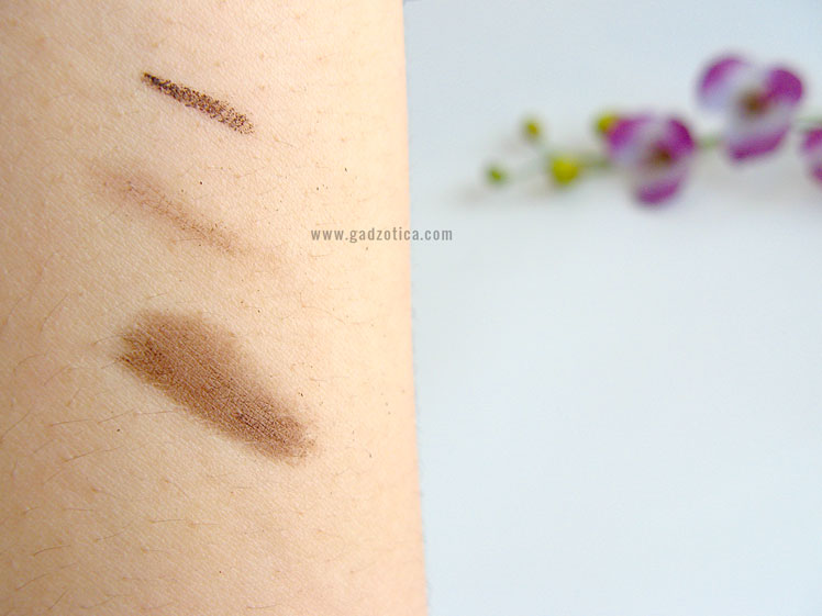 Silkygirl Big Eye Smokey Eyeliner + Smudger - 02 Dark Brown Review