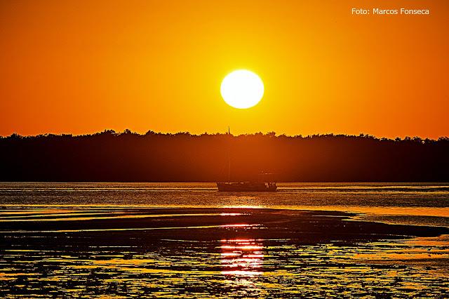 Nascer do sol em Guamaré