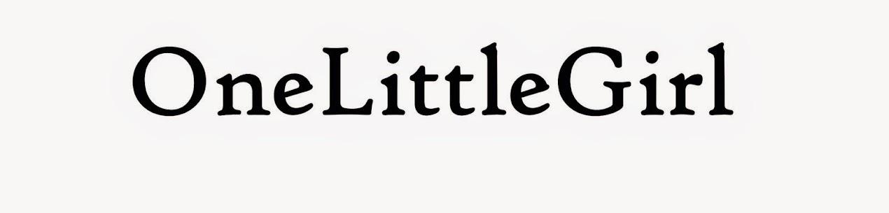 One Little Girl Blog by Paulina Bajowska