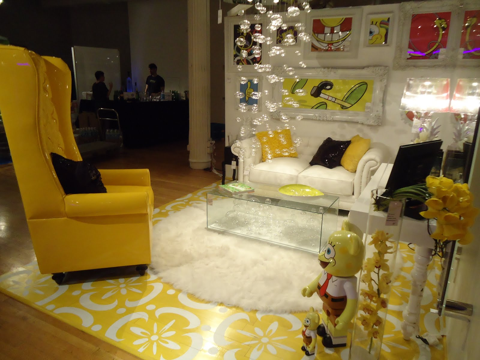 It can 39 t all be dior last nite 39 s party design on a dime for Apartment design on a dime