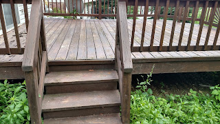 Deck refurbishing