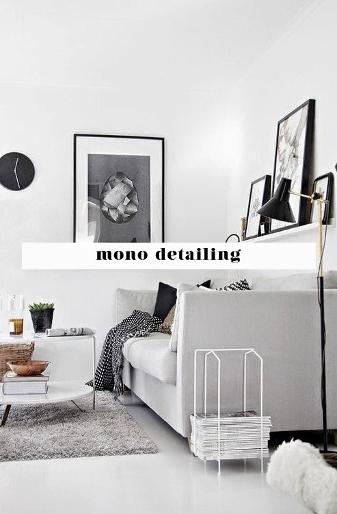 scandinavian home black and white home monochrome home inspiring home styling