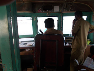"Ferry boat driver and assistant :- ""Fort Kochi to Ernakulam""."