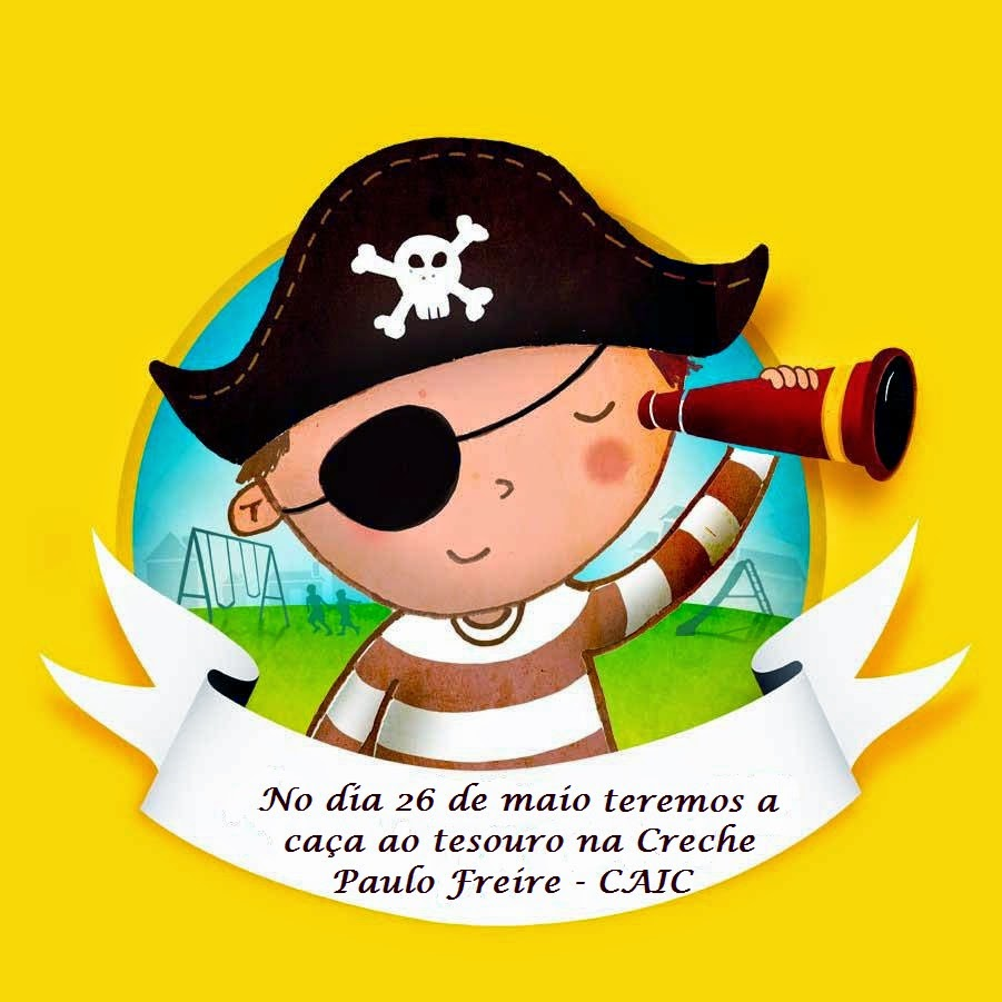 Fabuloso Creche CAIC Paulo Freire: Caça ao Tesouro BM45