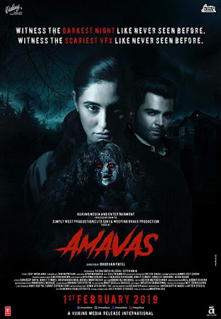 Poster Of Bollywood Movie Amavas 2019 300MB Pdvd Full Hindi Movie