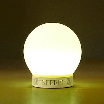 Lámpara Altavoz Despertador