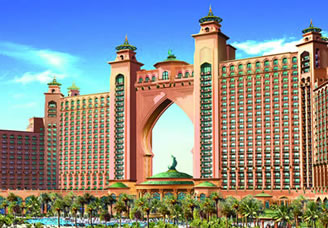 Palm islands in dubai and luxury hotels in dubai honey moon for Best hotels in dubai for honeymoon