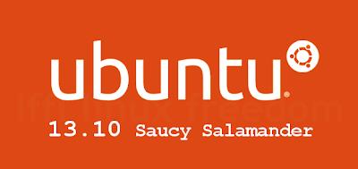 Ubuntu 13.10 Saucy Salamander Logo
