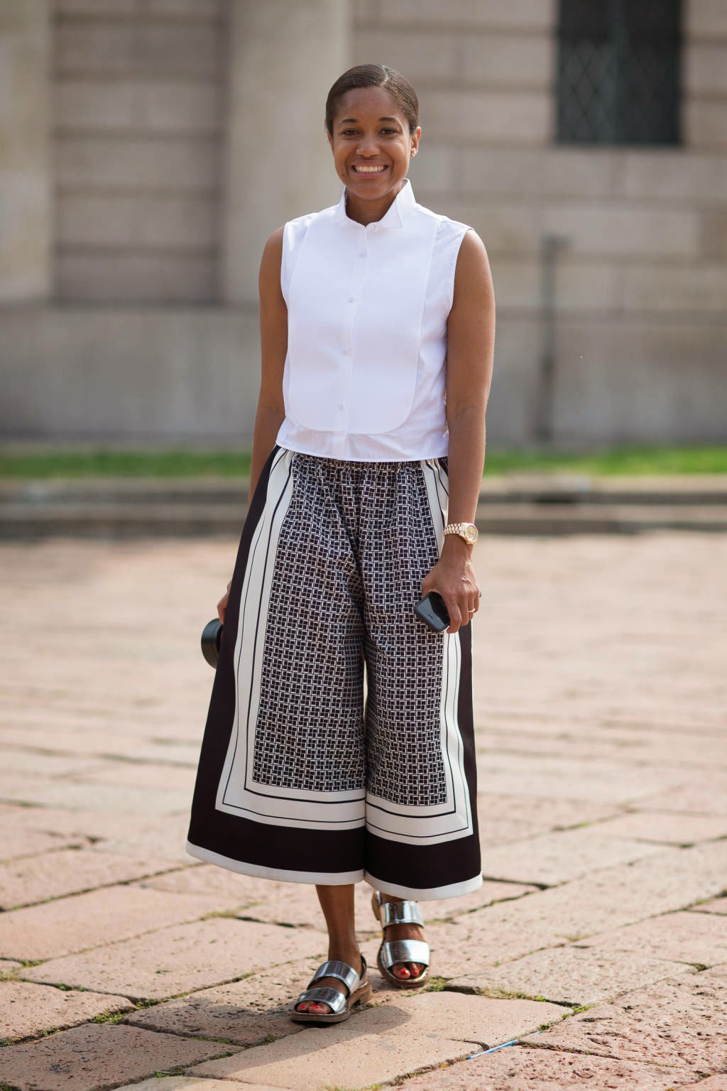 pantaloni culotte culotte pants gonne pantalone outfit gonna pantalone abbinamenti gonna pantalone trend gonna pantalone trend culotte pants abbinamenti pantaloni culotte colorblock by felym fashion blog di mariafelicia magno street style