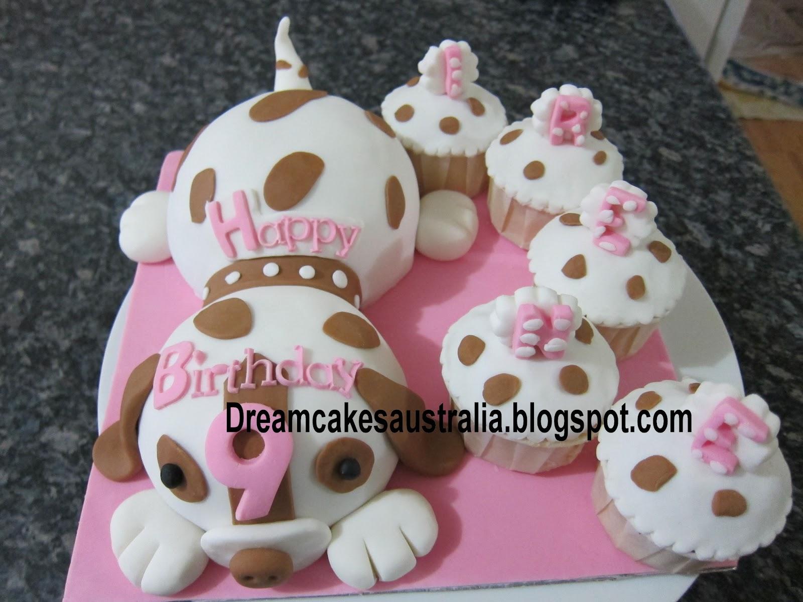 Dream Cakes Australia Puppy Dog Themed Cake
