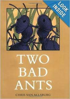 http://www.amazon.com/Two-Bad-Ants-Chris-Allsburg/dp/0395486688