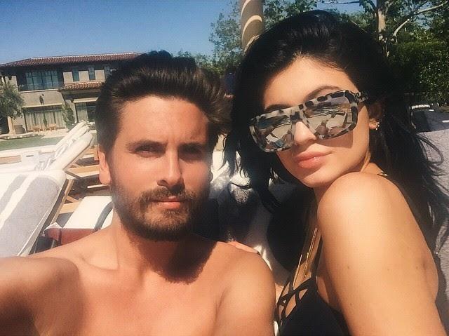 Kylie Jenner y Scott Disick