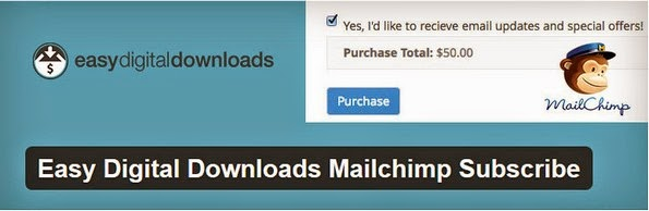EDD MailChimp subscribe plugin