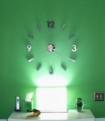 Self Design Modern Contemporary Abstract Wall Clock