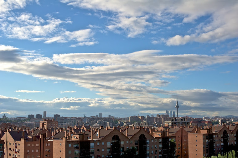 Madrid visto desde Vallecas