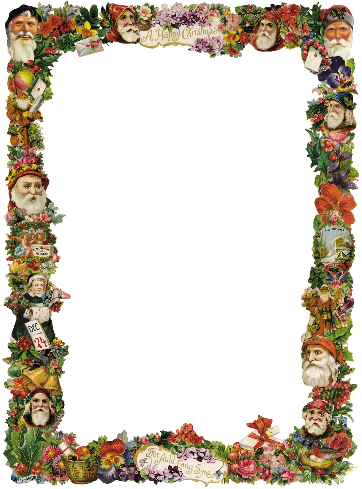 free victorian christmas clipart - photo #6