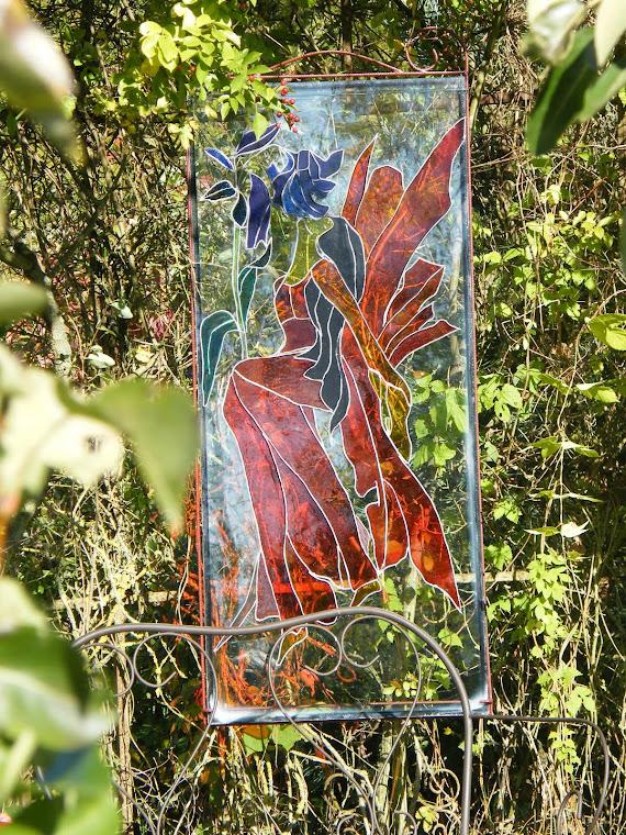 peinture vitrail sylphide*