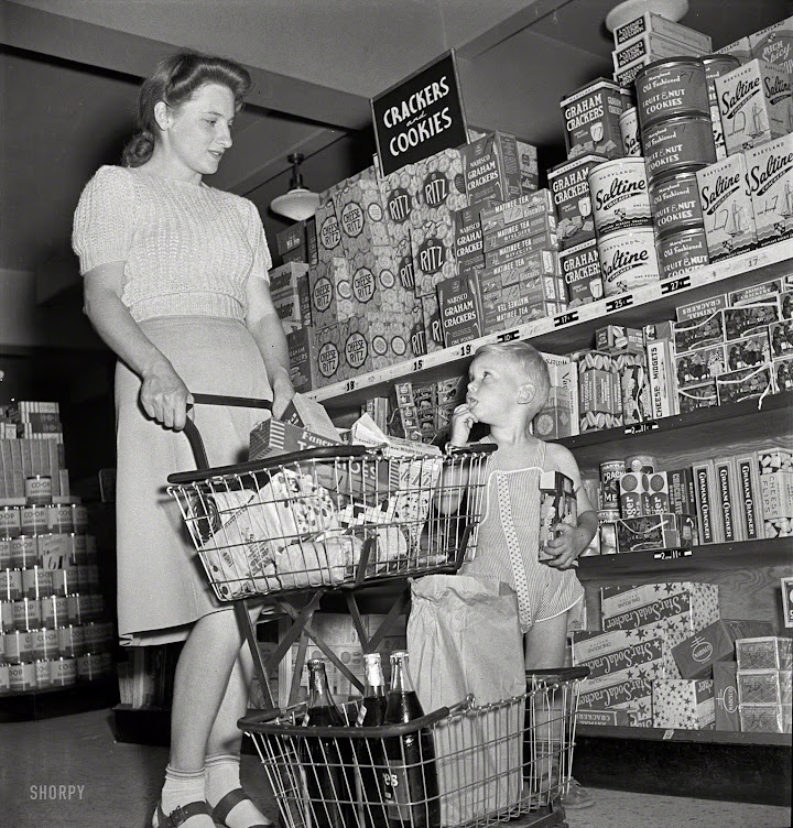 """Grocery Shopping in the """"Old Days"""" ~"""