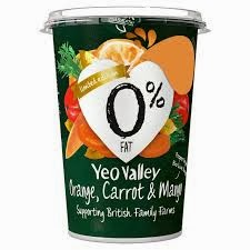Orange, Carrot & Mango Yoghurt