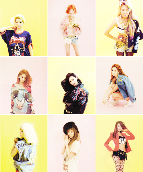 "SNSD ""I GOT A BOY"" 2013 ALBUM PHOTO CONCEPT"