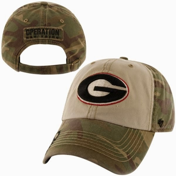 Georgia Bulldogs NCAA Operation Hat Trick Camo Hat