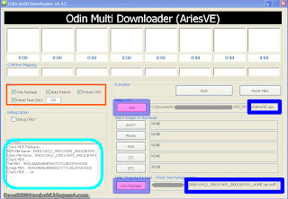 Step 1: Odin Flashing instruction to Install I9001XXKQ1 Android 2.3.6 Gingerbread Firmware Update on Samsung Galaxy S Plus I9001
