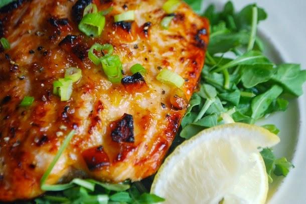 Orange Ginger Glazed Salmon | Always Order Dessert