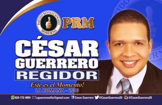 César Guerrero regidor!