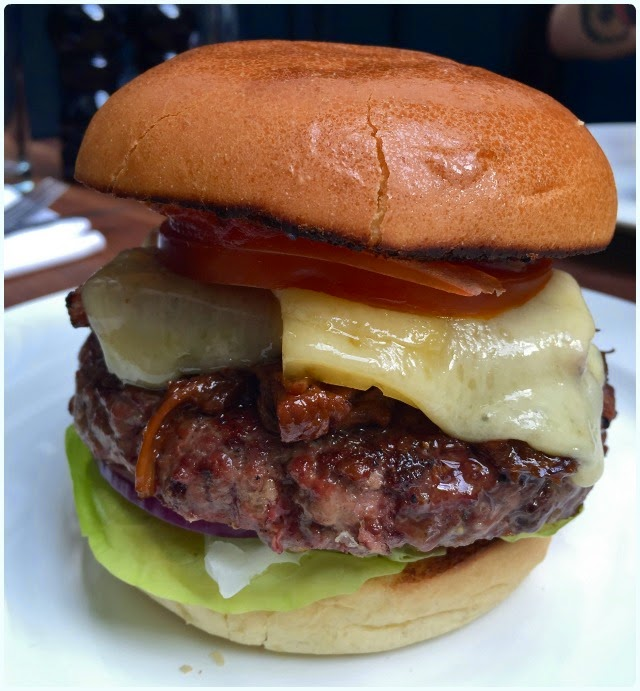 Hawksmoor, Manchester - Burger