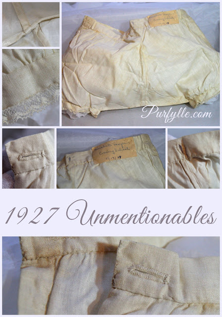 1927 Unmentionables