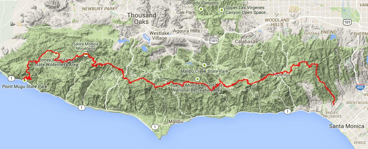Adventure Los Angeles Hiking the Backbone Trail Santa Monica