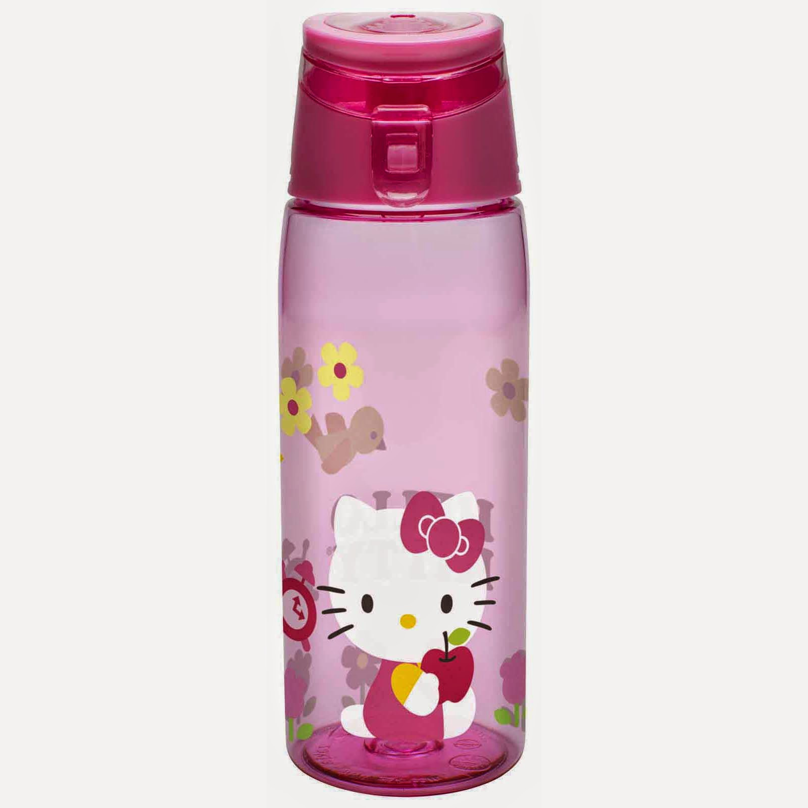 Gratis gambar botol minum hello kitty untuk anak