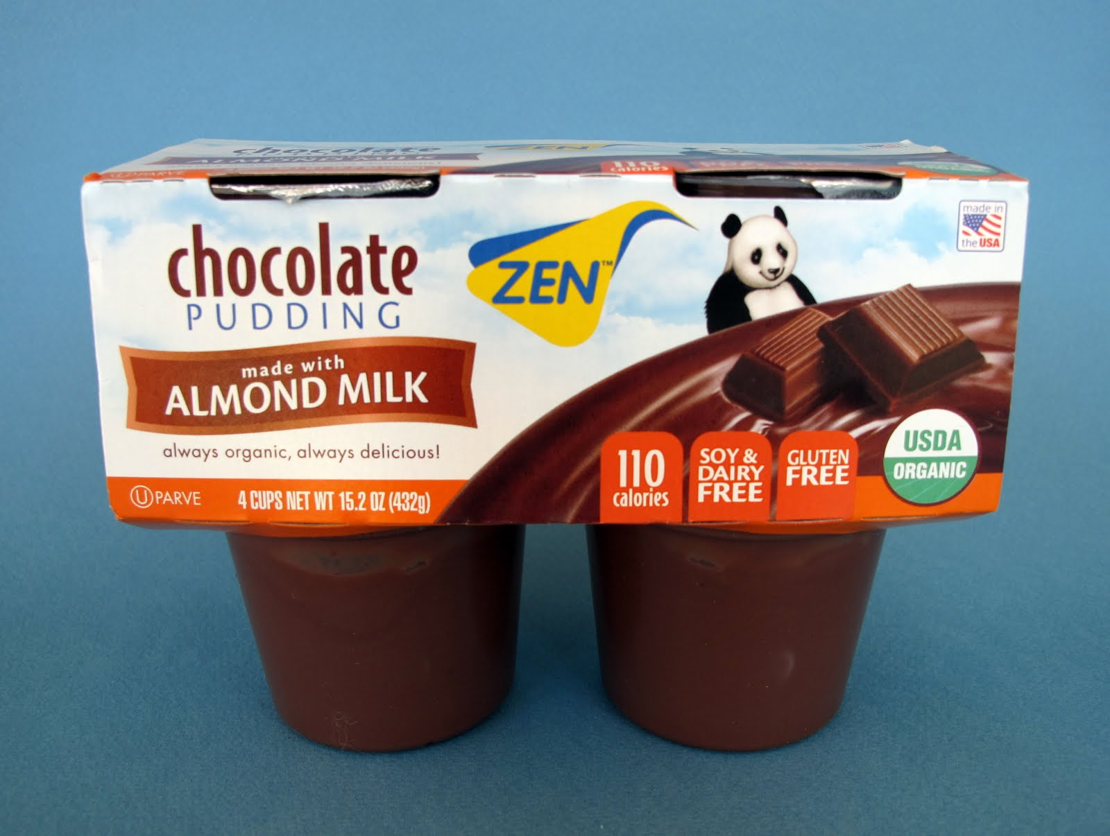 ... World: Zen Almond Milk Chocolate Pudding...And Introducing Gloopie