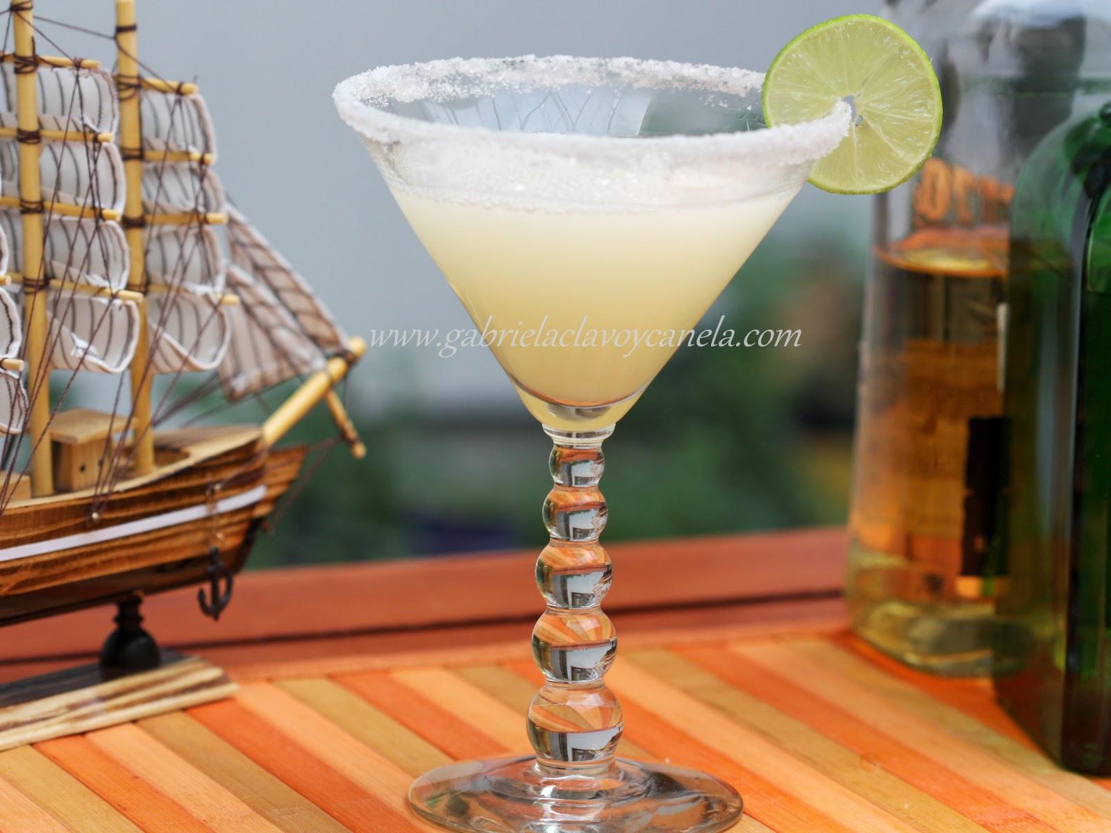 Gabriela clavo y canela tequila parte 3 receta de for Preparacion de margaritas