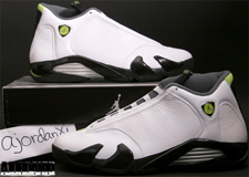 19ab63a5255 The Air Jordan XIV was retroed for the first time in 2005. On September  24th