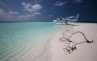 Taxi aéreo a las playas de las Islas Maldivas