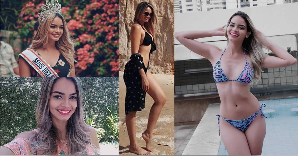 A modelo e miss Thaís Andrade está no mundo fashion há apenas 2 anos e já é a nova sensação no mund