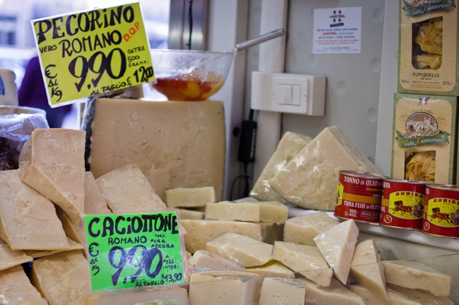Italian market - cheese