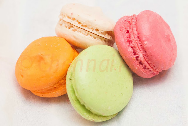 French Macarons at Hilton