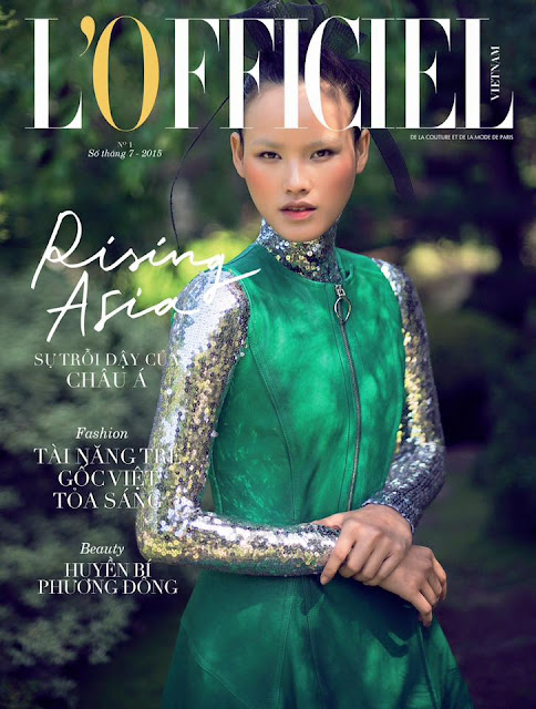 Model @ Tuyet Lan by Alvin Nguyen for L'Officiel Vietnam, July 2015