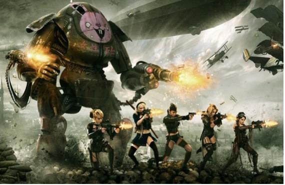 DROPSHIP HORIZON: Zombies, Girls with Guns, World War One