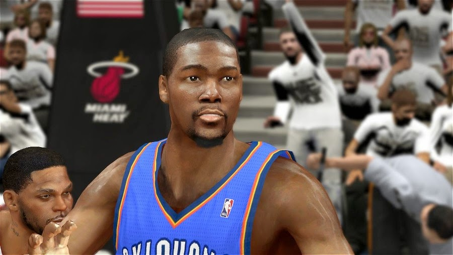 NBA 2K14 Kevin Durant Cyberface Mod (Final) - NBA2K.ORG