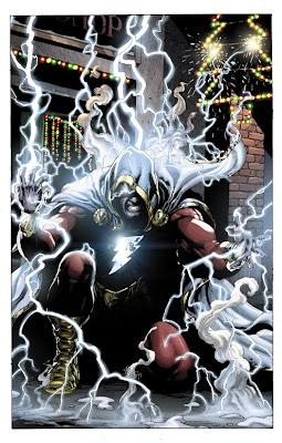 Shazam new 2012 costume