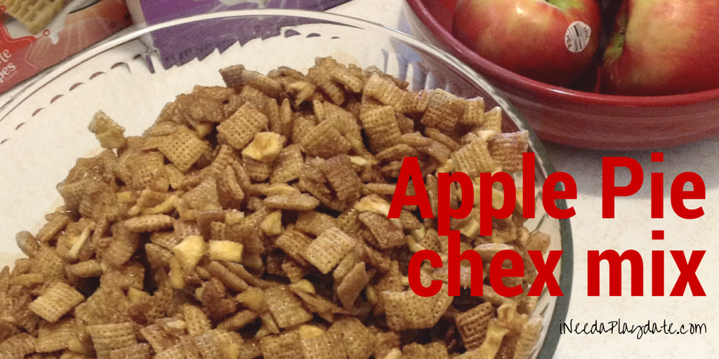 I'm All About the Apple Pie Chex Mix