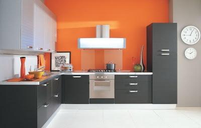 Contoh model kitchen set
