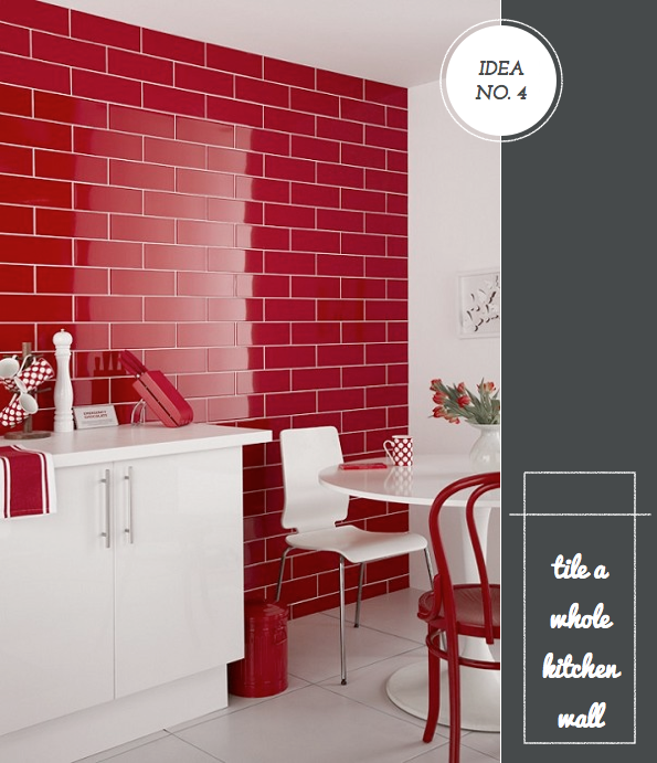 14 Creative Ways To Decorate A Kitchen: Five Creative Ways To Decorate With Topps Tiles